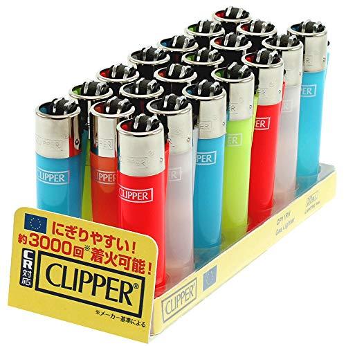 CLIPPER クリッパー ガスライター 20本 ライテック CR対応 ガス注入式 フリントライター