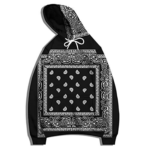 SSBZYES Sudadera para Hombre Camiseta De Manga Larga Sudadera con Capucha Suéter De Talla Grande Negro Gris...