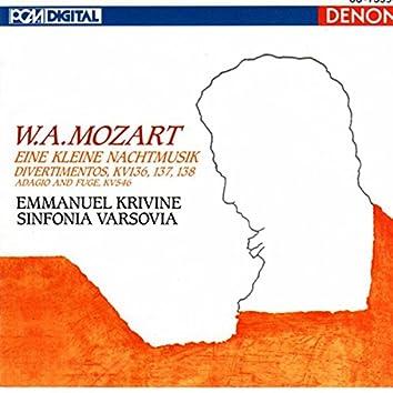 W.A. Mozart: Eine Kleine Nachtmusik, Divertimentos & Adagio and Fuge