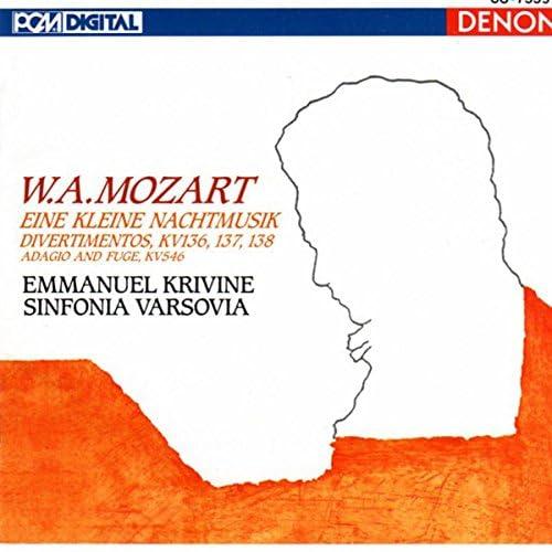 Emmanuel Krivine, Sinfonia Varsovia & Wolfgang Amadeus Mozart
