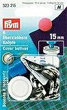 Prym Accesorios para Trabajos manuales, Plateado y Negro, 24'' 15 mm