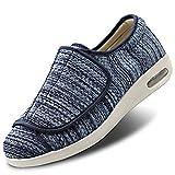 Secret Slippers Women's Diabetic Shoes Extra Wide Width Walking Sneakers with Adjustable Closures for Diabetic Edema Plantar Fasciitis Bunions Arthritis Swollen Feet