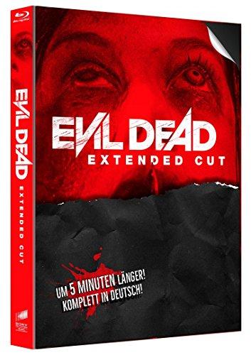Evil Dead Mediabook Cover B - Extended & Uncut Version (96 Min./91Min.) [Blu-ray] 2013