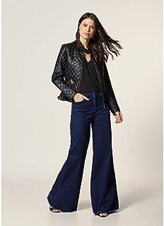 Pantalona Jeans Cós Desfiado