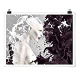 Bilderwelten Poster Wall-Art mit Klammern - Milk & Coffee -