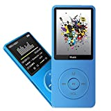 MP3 Player, Dyzeryk Music Player with 16GB Micro SD Card, Ultra Slim Music Player with Build-in...