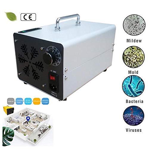 Lzx Generatore di ozono Commerciale 20000Mg/H O3 Purificatore d'Aria Ozonizzatore O3 Industriale Deodorante Sterilizzatore per Casa, Ufficio, Certificazione CE