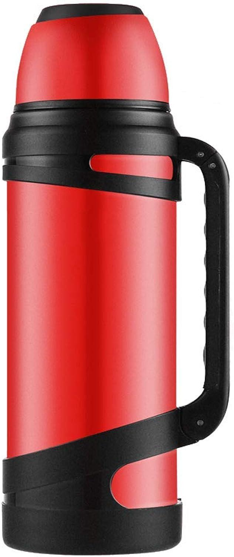 FYCZ Isolierungs-Schale, 3L Spielraum-Vakuumkaffee-undurchlssige Tee-Flasche Einhandnahrungsmittelgrad-Edelstahl-Kessel-kalter Getrnk-heies Getrnk