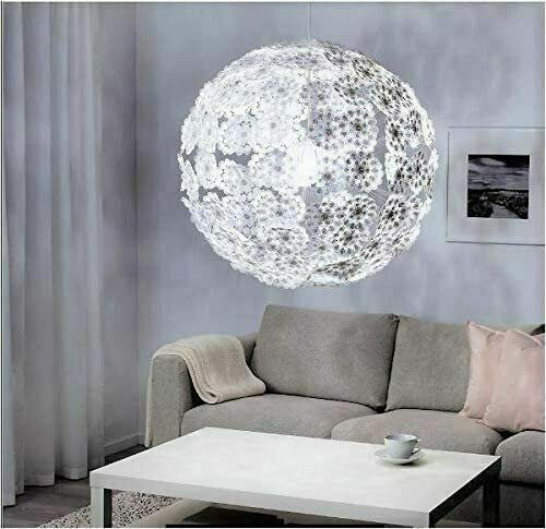 IKEA 604.168.45 Grimsås Pendant Lamp, White