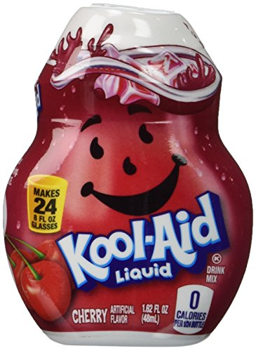 Kool-Aid Liquid Drink Mix - Cherry 1.62oz (Pack of 4)