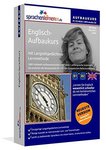 Sprachenlernen24.de Englisch-Aufbau-Sprachkurs: PC CD-ROM für Windows/Linux/Mac OS X + MP3-Audio-CD für MP3-Player. Englisch lernen für Fortgeschrittene
