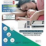 Meditotalpro Anti Pollution Filter for Converting Split AC into Air Purifier - Pack of 4 Filters