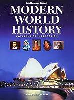 Modern World History, Grades 9-12 Patterns of Interaction: Mcdougal Littell World History Patterns of Interaction