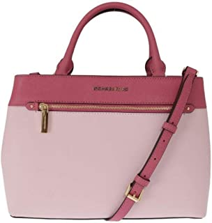 30938655513d Michael Kors Women's Hailee Medium Leather Satchel Crossbody Bag Purse Tote  Handbag