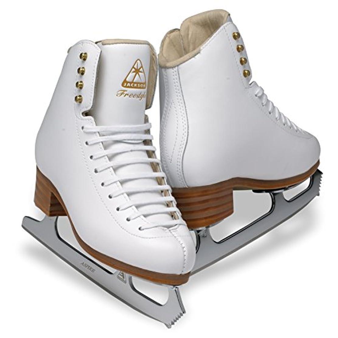 無知素朴なエンティティ(Width: B, Size: Junior 12) - Jackson Ultima DJ2190 DJ2191 Freestyle Series/Aspire Blade/Figure Ice Skates for Women and Girls/Width A, B, C