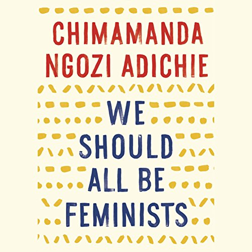 We Should All Be Feminists audiobook cover art