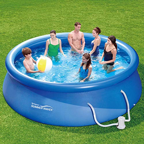 Summer Waves Fast Set Quick Up Pool 366x91cm Swimmingpool - 9