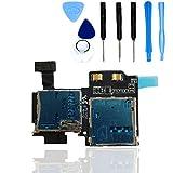 Lector de tarjetas Micro SD/SIM teparto para Samsung Galaxy S4 i9500/i9505 con herramientas