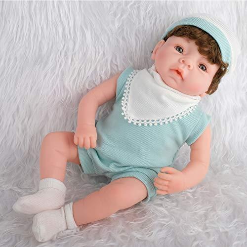 DPGPLP Bambole di Simulazione Giocattoli per Bambini Giocattoli per la casa Giocattoli per l'educazione precoce Bambino con Funzione Simulazione di Neonati