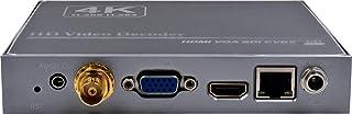 4K 1080P H.265 HEVC H.264 AVC SDI HDMI VGA CVBS ビデオデコーダー/エクステンダー/マトリックスオーバーイーサネット、HTTP/HLS/FLV/RTSP/RTMP(S) / UDP/RTP (ユニキ...