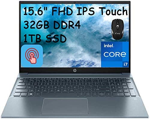 2021 Flagship HP Pavilion 15 Laptop Computer 15 6 FHD IPS Touchscreen Display 11th Gen Intel product image