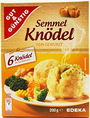 Gut und Günstig Semmel-Knödel fein gewürzt, 16er Pack (16 x 200g)