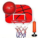 XLNB Baloncesto Goal Hoop Rim Net Portátil Montado En La Pared para Niños De Interior Al Aire Libre Juguetes Deportivos con Pelota E Inflador