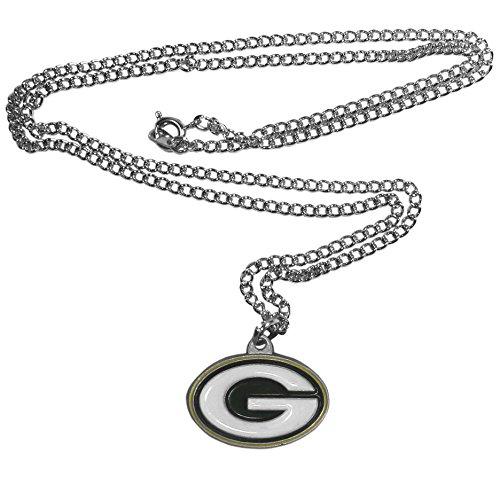 Colar de corrente NFL Siskiyou Sports Fan Shop Green Bay Packers 56 cm cor do time
