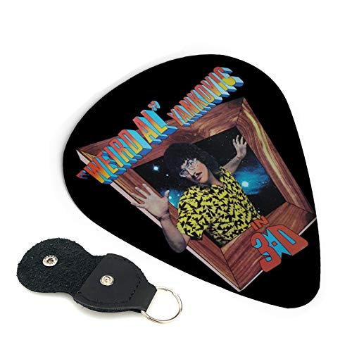 Weird Al Yankovic In 3-D Guitar Picks For 6-String/4-String Electric Guitar Acoustic Guitar Mandolin And Bass Ukulele Guitar Pick Punch Gift 6 Picks