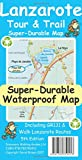 Brawn, D: Lanzarote Tour & Trail Super-Durable Map
