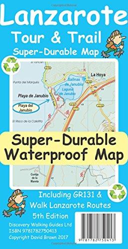 Price comparison product image Lanzarote Tour & Trail Super-Durable Map
