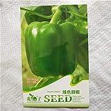 Estivi Semi,Semi di ortaggi Colorati Semi di Pepe Fantasma Pepe Balcone orto piantare-Green_1000,Semi per Piante da Giardino