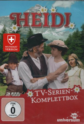 Heidi - TV Serien Komplettbox (3DVD)
