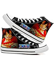 Vrijetijdsschoenen Heren Canvas Casual Schoenen Sneakers Outdoor Damesschoenen Herenschoenen Unisex 3D Anime Wandel Schoenen Shoes One Piece Luffy