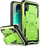 i-Blason Custodia iPhone X iPhone Xs, Cover Rigida [Armobox V2.0] Pellicola Protettiva in Vetro...