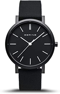 BERING Unisex Analogue Quartz Watch with Silicone Strap 16934-499