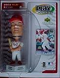 2002 MLB Edition Albert Pujols Bobblehead Play Makers by UPPER DECK