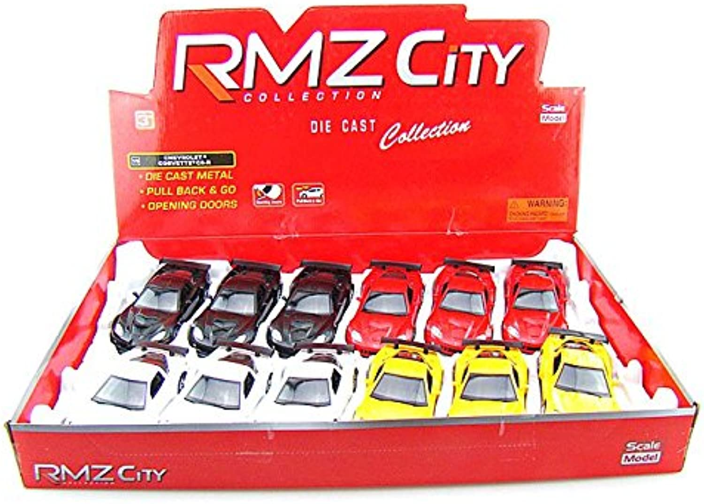 RMZ City Set of 12  Chevy Corvette C6R 1 36