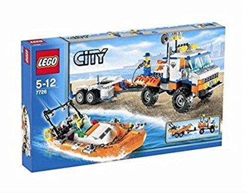 LEGO City - Camión y lancha motora de los Guardacostas