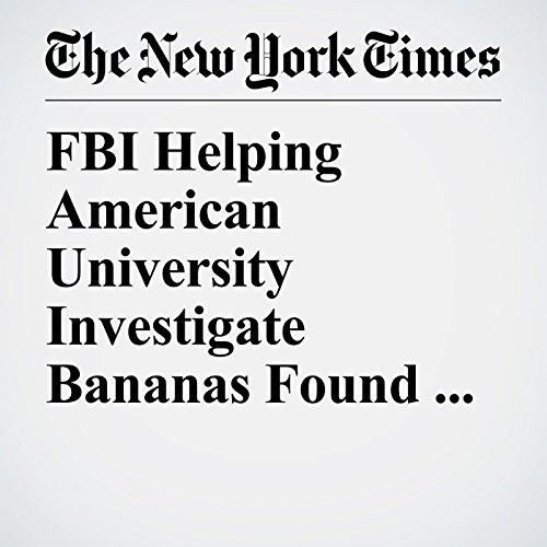 FBI Helping American University Investigate Bananas Found Hanging from Nooses copertina
