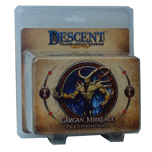 Giochi Uniti GU245 - Gioco Descent Seconda Edizione: Pack Luogotenente Gargan Mirklace