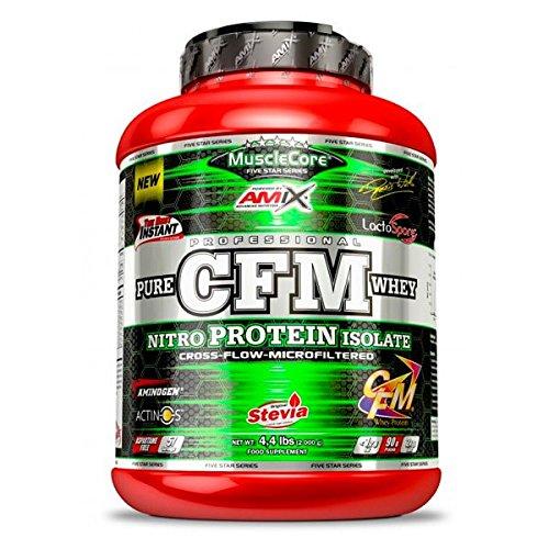 AMIX MuscleCore CFM Nitro Protein Isolate - 2 kg Fresa Yogurt