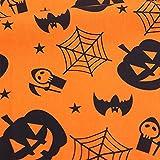 Egurs Baumwollstoff Wimpel Stoff Halloween Stil