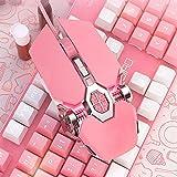 Immagine 2 mouse da gioco rosa ragazze