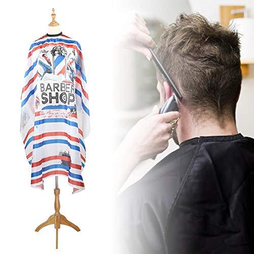 popchilli Kapsel Cape, Vintage Gestreepte Inkjet Kapsel Schort In Kappers Stof/Weefsel, Kappers benodigdheden Voor Haarsalon
