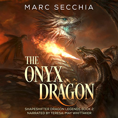 The Onyx Dragon audiobook cover art