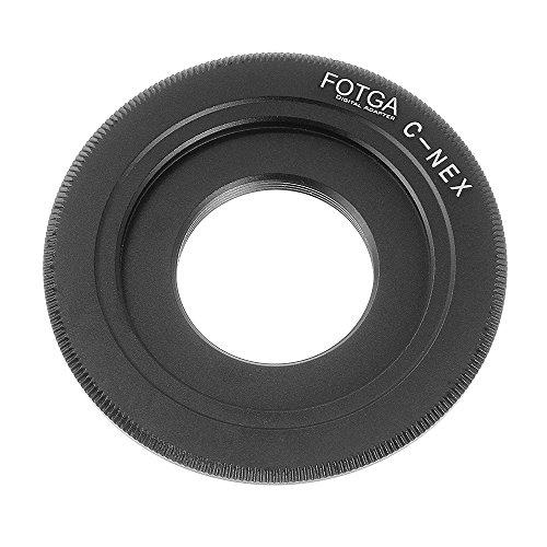 Lens Mount Adapter for C mount to Sony NEX-3 NEX-5 NEX-6 NEX-7 NEX-VG10 NEX-C3 for Sony Alpha a7 a7S a7R a7II a7SII a7RII A7III A7RIII A7SIII A9 a6500 a6300 a6000 a5100 a5000 a3500