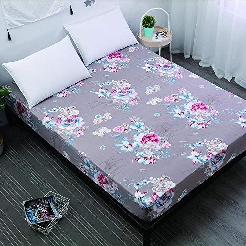 ZJXSNEH 2021 Próximamente Protector de Almohadilla de colchón Impermeable Funda de colchón Fitted Shee,Talla 180X200+30cm