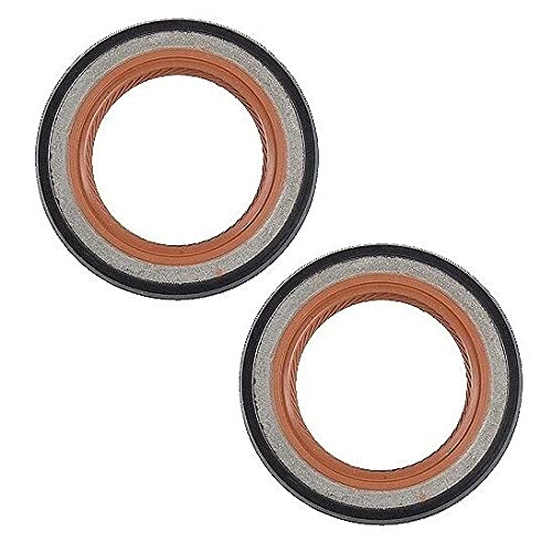 Set of 2 Compatible with 740 850 940 960 S60 S80 Engine Balance Shaft Seal
