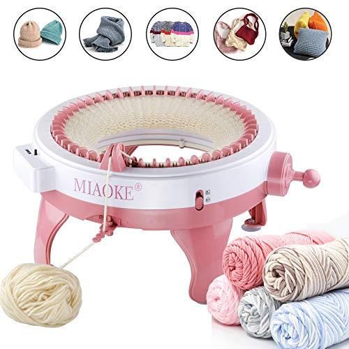 Knitting Machine, 48 Needles King Size Smart Weaving Loom Knitting Round Loom, Knitting Board...